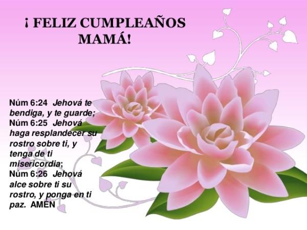 Feliz Cumpleanos Mama Imagenes Frases Tarjetas Mensajes Y