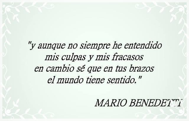 Imagenes Frases Y Poemas De Mario Benedetti