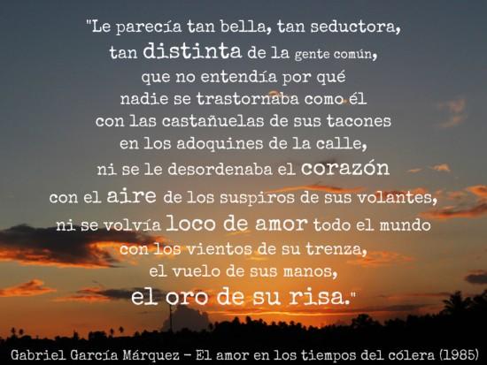 30 Frases Y Poemas De Gabriel Garcia Marquez En Imagenes